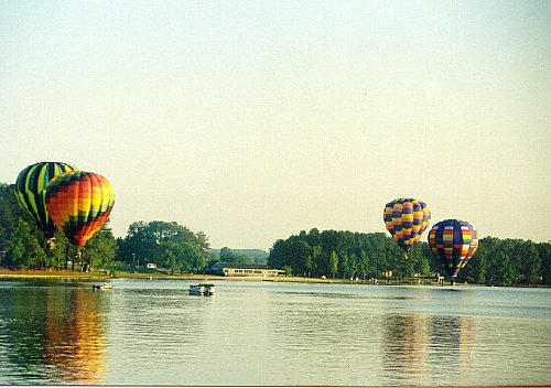 June took this at the Lake Gaston Hot Air Balloon Classic night glow, May 22, 1999