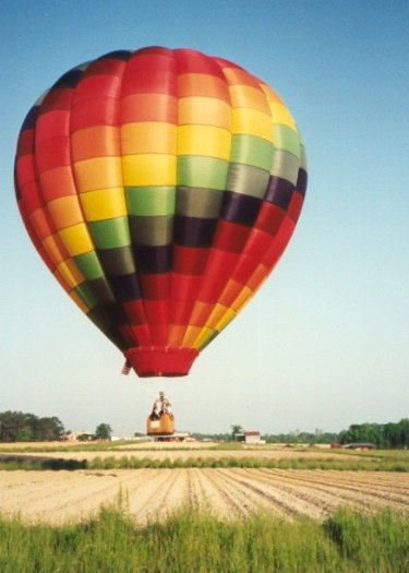 Taken at Lake Gaston Hot Air balloon Classic, Gasburg, VA, May 1999